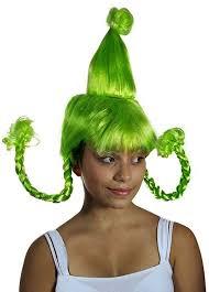 amazon com my costume wigs women u0027s green cindy lou who costume
