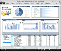 Dynamic Dashboard Template In Excel Human Resource Dashboard Analysis For Hr Department