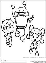 team umizoomi coloring pages vladimirnews me