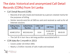 called party pattern usage cdr using mobile network big data for land use classification kaushalya