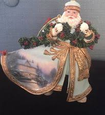 kinkade world santas ebay