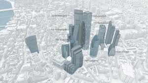 Map Of Gotham City A Tortured Heap Of Towers U0027 The London Skyline Of Tomorrow Art
