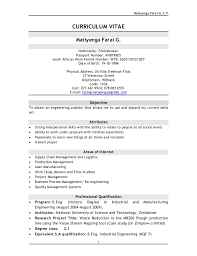 Resume For Work Study Jobs by Matiyenga Farai G C V