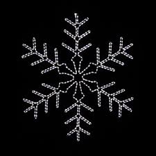 lighted snowflake decorations lighting decor