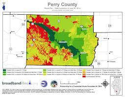 County Maps Perry County Maps U2014 Broadband Illinois