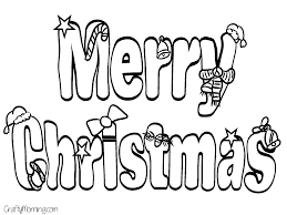 merry christmas coloring pages getcoloringpages com