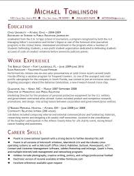 Resume Example Relevant Coursework  Example College Resume         Example Resume  Objective On Your Resume With Education And Professional Profile  Objective On Your Example Resume  Coursework