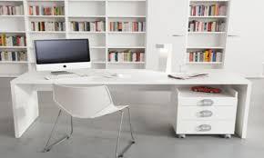 design office unique desks wooden stained varnished modern