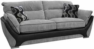 Black Fabric Sofa Buy Buoyant Enzo 3 Seater Fabric Sofa Online Cfs Uk