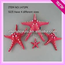 lively resin material aquarium artificial starfish decorations