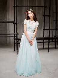 light blue wedding dresses 35 trendy and blue wedding gowns weddingomania