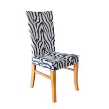 Zebra Dining Chair Covers Statement Prints Zebra Dining Chair Cover Temple U0026 Webster