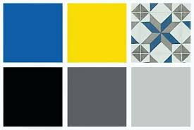 gray and yellow color schemes blue and gray color scheme modern interior design color scheme for