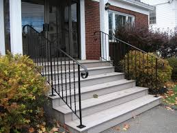 Outer Staircase Design Wrought Iron Stair Railings Exterior Staircase Including