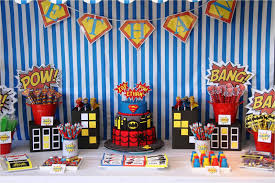 superman themed birthday party decorations home party ideas