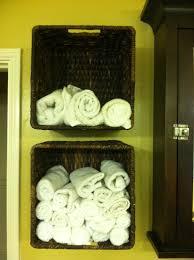 Bathroom Wall Baskets The Third Diy Wall Storage Baskets