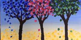 three colored trees time sip wine studios