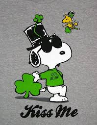 peanuts s day 95 best snoopy st patricks day images on brown