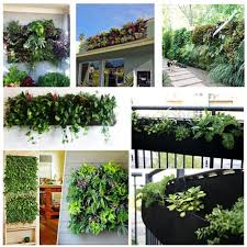 Indoor Garden Wall by Online Get Cheap Garden Wall Pocket Planter Aliexpress Com