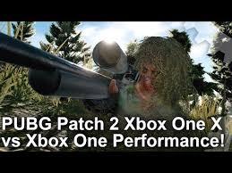 pubg xbox reddit pubg xbox one x vs xbox one patch 2 frame rate test xboxone