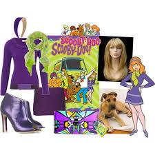 Scooby Doo Gang Halloween Costumes Diy Halloween Costume Daphne Scooby Doo Polyvore