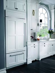Overlay Kitchen Cabinets by Built In Refrigerator Differences Momentum Construction