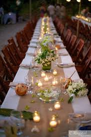 Wedding Table Themes Candles On A Rustic Wedding Table Theme Wedding Table
