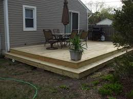 Leveling Uneven Concrete Patio by Tips Ground Level Deck Building A Deck On Uneven Ground Pool