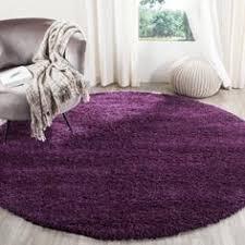 purple accent rugs hand woven grey chenille shag rug 3 round bath accessories