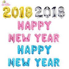 happy new year balloon aliexpress buy hey happy new year set letter balloon