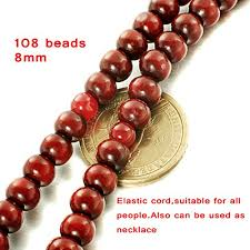 red prayer bead bracelet images Funrun 2pcs womens mens 108 buddhist strand bracelet wood prayer jpg