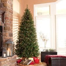 homey ideas 9 ft pre lit tree clearance led chritsmas decor