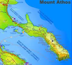Kos Greece Map by Mount Athos Maps Greece Maps Of Mount Athos