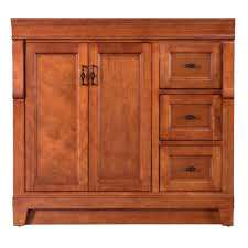 Home Depot Bathrooms Vanities by Foremost Naples 36 In W Bath Vanity Cabinet Only In Warm Cinnamon