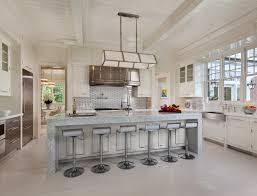 Gorgeous Kitchens Waterfall Kitchen Island Gorgeous Kitchen With Bleached Hardwood