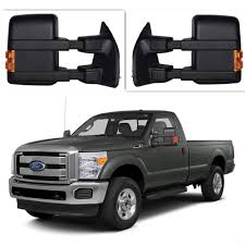 Ford F250 Truck Mirrors - for 08 16 ford f250 f550 super duty towing power heated mirrors w