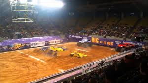 monster truck show roanoke va monster jam roanoke virginia 2014 friday night youtube