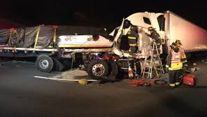 Mass Pike Exits Map All Lanes Open After Truck Accident On Masspike Wwlp Com