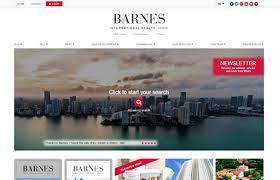 Barnes International Miami Miami Real Estate Websites Trem Group