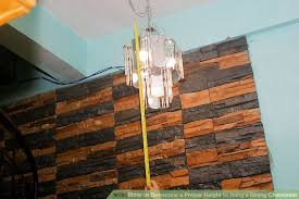 How To Replace A Chandelier With A Light Fixture How To Determine A Proper Height To Hang A Dining Chandelier