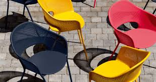 Metal Chaise Kate Armchair Designer Metal Chair Outdoor Furniture