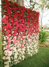 wedding backdrop grass gorgeous floral wedding backdrops mywedding