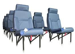 king air econo airline style high density commuter seat aviation