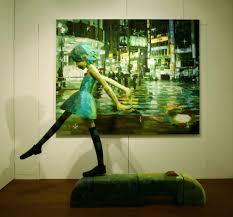 felix ip 蟻速畫行 sculpture canvas u003d 3d paintings by shintaro