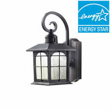 Home Decoraters Home Decorators Collection Aged Iron Motion Sensing Outdoor Led
