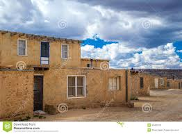 Adobe Homes by Acoma Pueblo Stock Photo Image 45425733