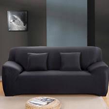 stretch sofa slipcover sofa slipcovers in white grey black red stretch 3 piece ebay