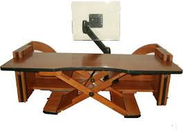 Hydraulic Desk Table Heavenly Electric Executive Standing Desk Ergonomic For Sale