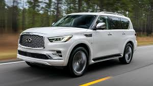 infiniti van 2018 infiniti qx80 first drive the wayback machine