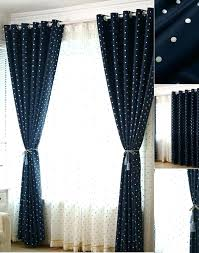 Blackout Nursery Curtains Uk Polka Dot Curtains Teawing Co